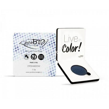 Ombretto compatto shimmer Blu 07