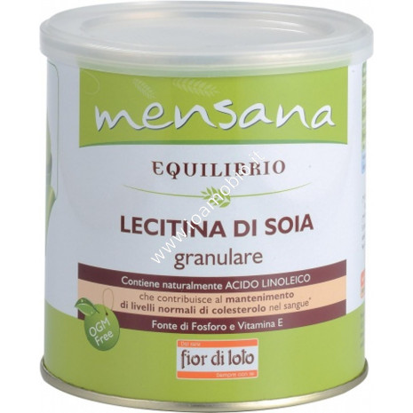 Lecitina di Soia Granulare 250g - Ricca di Acido Linoleico Fosforo e Vitamina E