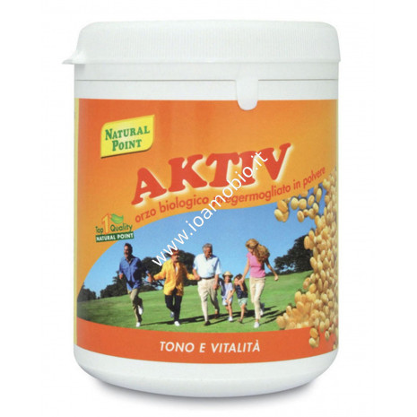 Aktiv Orzo Biologico Pregermogliato 300g - Natural Point