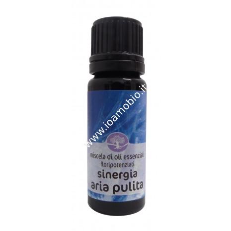 Sinergia Aria Pulita Floripotenziato 10ml - Olio Essenziale Remedia Erbe