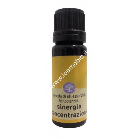 Sinergia Concentrazione Floripotenziato 10ml - Olio Essenziale Remedia Erbe