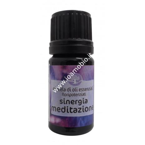 Sinergia Meditazione Floripotenziato 5ml - Olio Essenziale Remedia Erbe