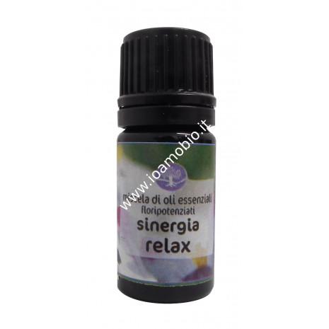 Sinergia Relax Floripotenziato 5ml - Olio Essenziale Biologico Remedia Erbe