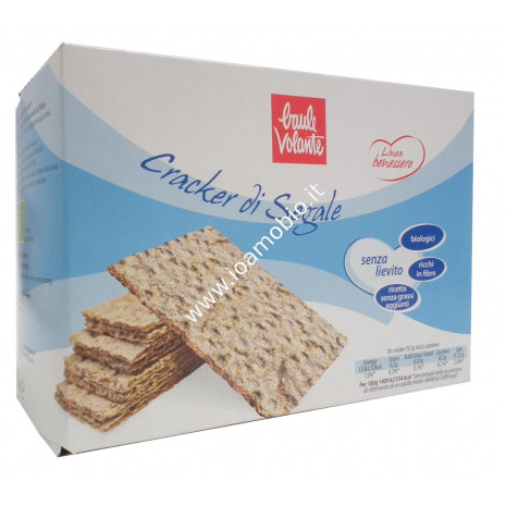 Crackers di Segale - Linea Benessere 250g - Baule Volante