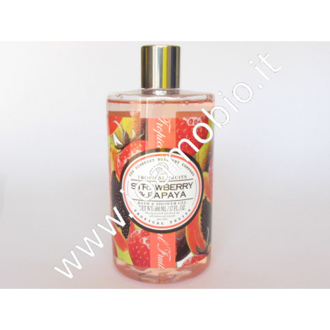 Fragola & papaya - gel doccia 500ml