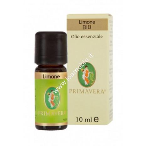 Olio essenziale Limone Bio 10ml - Primavera