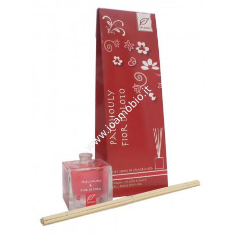 Diffusore di fragranza Patchouly e Fior di Loto 80 ml