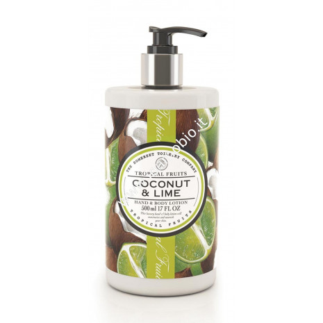 Crema Corpo 500ml - Cocco & Lime - Tropical Fruits