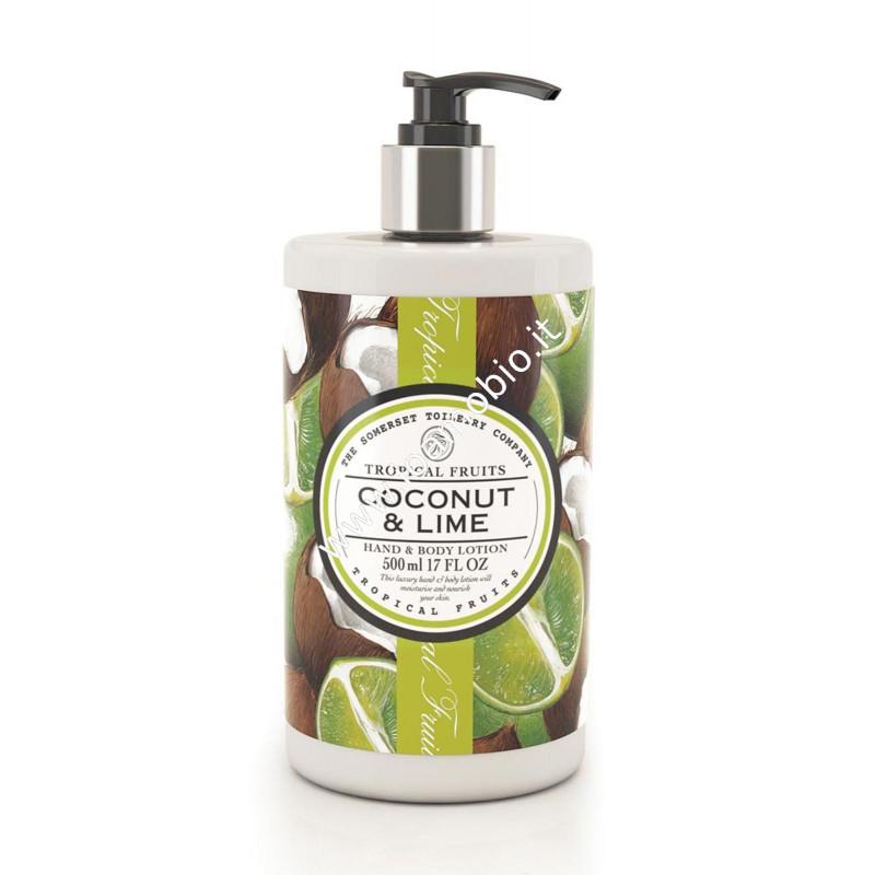 Cocco & lime - crema corpo 500ml