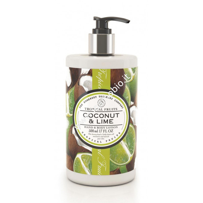 Crema Corpo 500ml - Cocco & Lime - Tropical Fruits