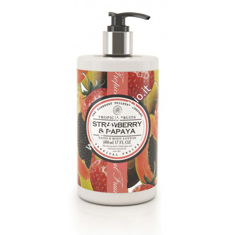 Crema Corpo 500ml - Fragola & Papaya - Tropical Fruits