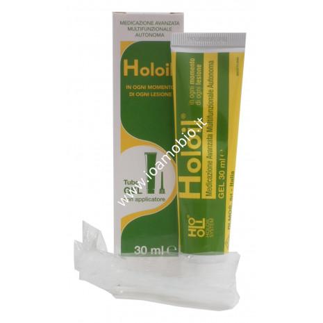 Holoil Tubo gel 30ml - Medicazione Emorroidi, Ragadi, Fistole, Prurito Intimo