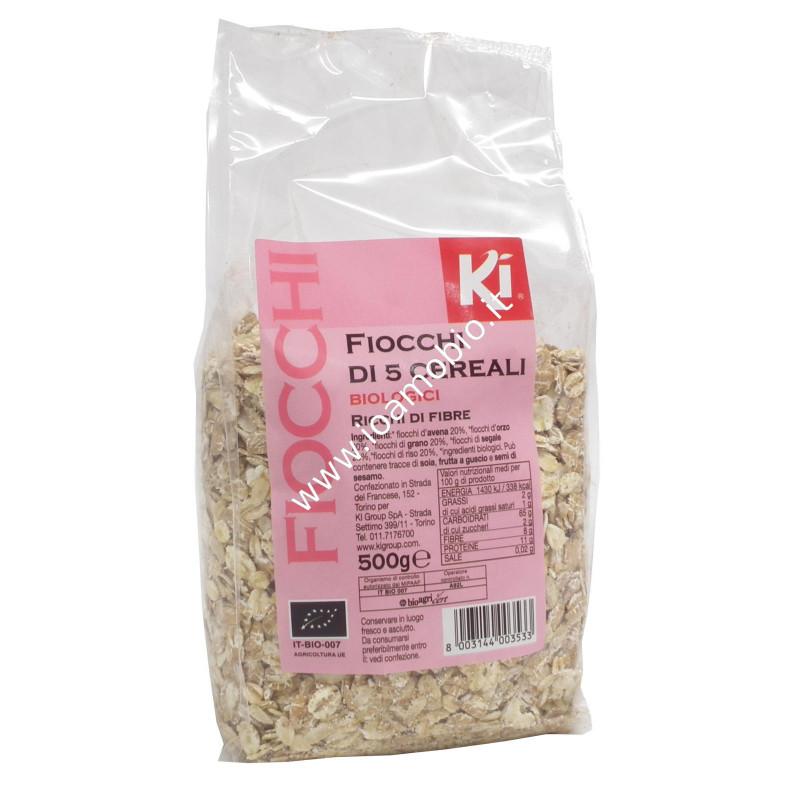 Fiocchi di 5 cereali 500g