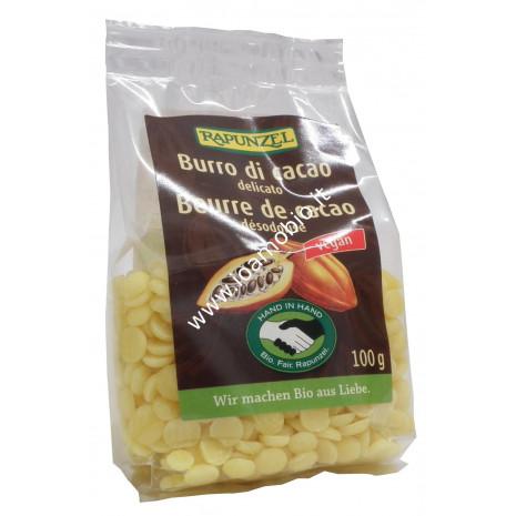 Burro di Cacao Porzionato 100g - Biologico Rapunzel