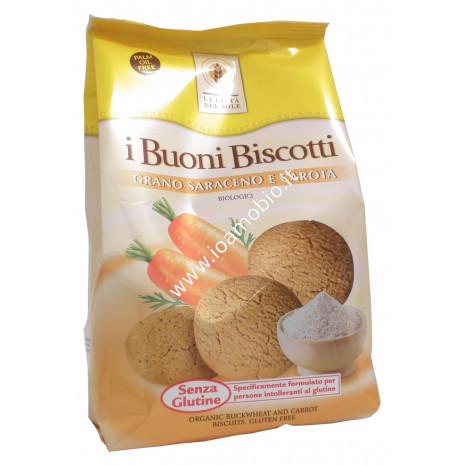 I Buoni Biscotti - Grano Saraceno e Carota 350g - Bio La Città del Sole