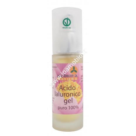 Acido Ialuronico Gel Puro 100% 30ml - Biologico Alchimia Natura Effetto Lifting