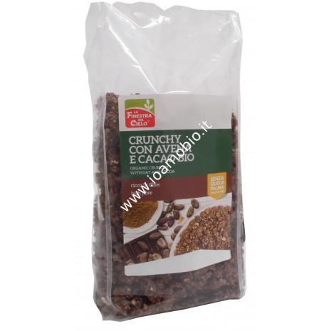Crunchy con Avena e Cacao 375g - La Finestra sul Cielo - Colazione