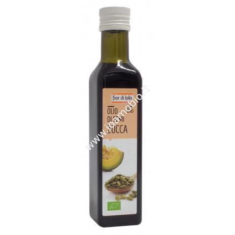 Olio di semi di zucca biologico 250ml - Fior di Loto