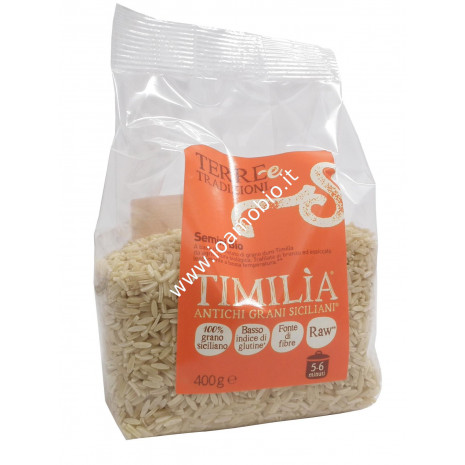 Semini di Timilia 500g - Pasta Biologica di Grani Antichi Terre e Tradizioni
