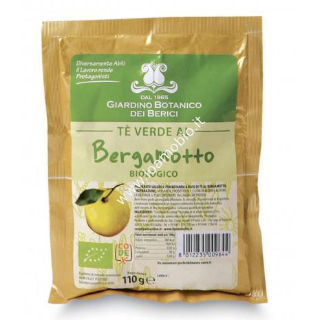 Preparato per Tè Verde Solubile al Bergamotto 110g- Giardino Botanico dei Berici