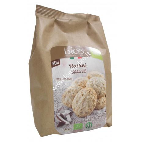 Rustici al Cocco 200g - Biscotti Biologici senza olio di palma