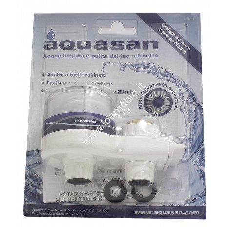 Aquasan Multifilter Compact - filtro per acqua potabile ad uso domestico