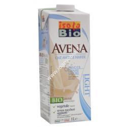 Bevanda Avena light 1 lt - Latte vegetale biologico Isola Bio