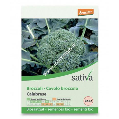 Sementi Bio - Cavolo Broccolo Calabrese - Semi Sativa