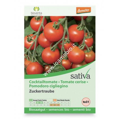 Sementi Bio - Pomodoro Ciliegino - Semi Sativa