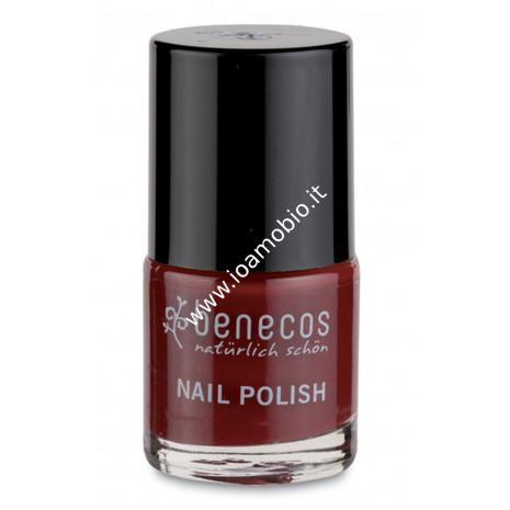 Smalto Unghie - Cherry Red 9 ml - Benecos rosso ciliegia