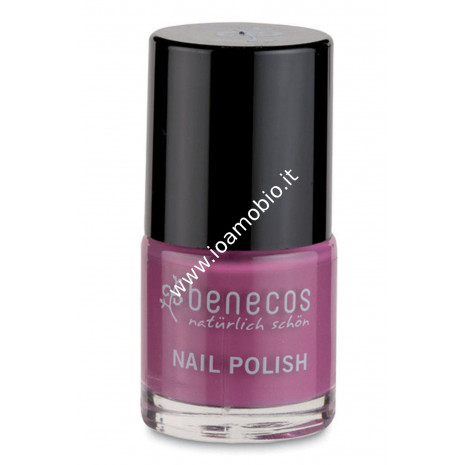 Smalto Unghie - My Secret 9 ml - Benecos ciclamino