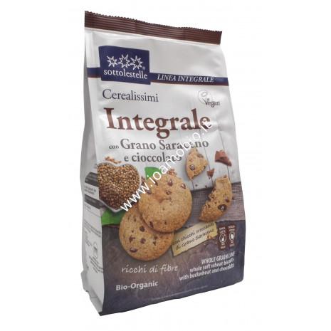 Cerealissimi Grano Saraceno Integrale e Cioccolato 300g - Biscotti Sottolestelle