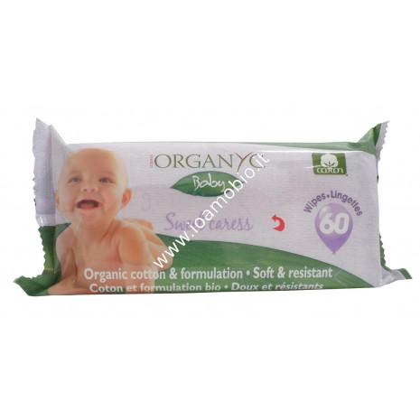 Organyc salviette baby 60pz