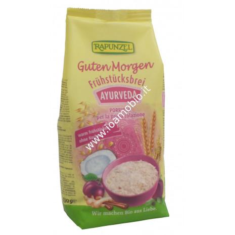 Porridge Ayurveda Rapunzel 500g - con miglio, avena, orzo, cocco e spezie