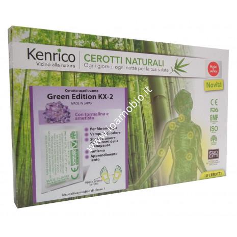 Cerotti Green Edition KX-2 con tormalina e ametista - Kenrico