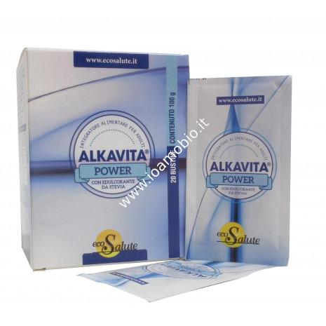 Alkavita Power 20 bustine - Alcalinizzante per contrastare l'acidosi dei tessuti
