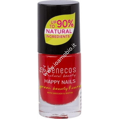 Smalto Unghie - Vintage Red 5 ml - Benecos