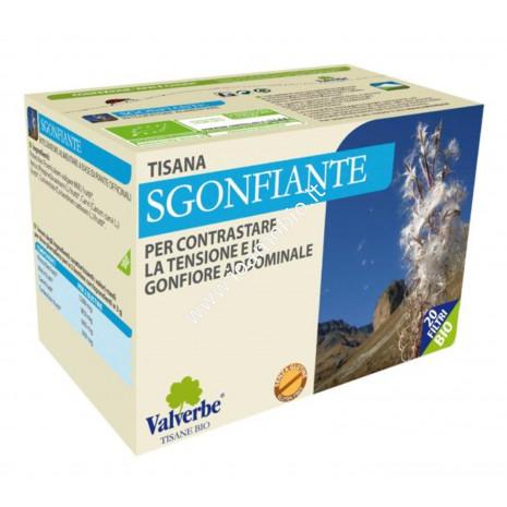 Sgonfiante 20 filtri - Valverbe Tisana bio - Tensione e gonfiore addominale