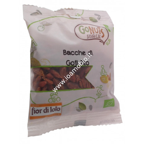 Bacche di goji 35g - Biologiche Gonuts