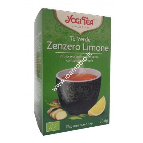 Yogi Tea - Tè Verde con Zenzero e Limone