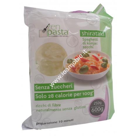 Shirataki Secchi formato Tagliatelle a Nido 250g - Pasta Macrobiotica