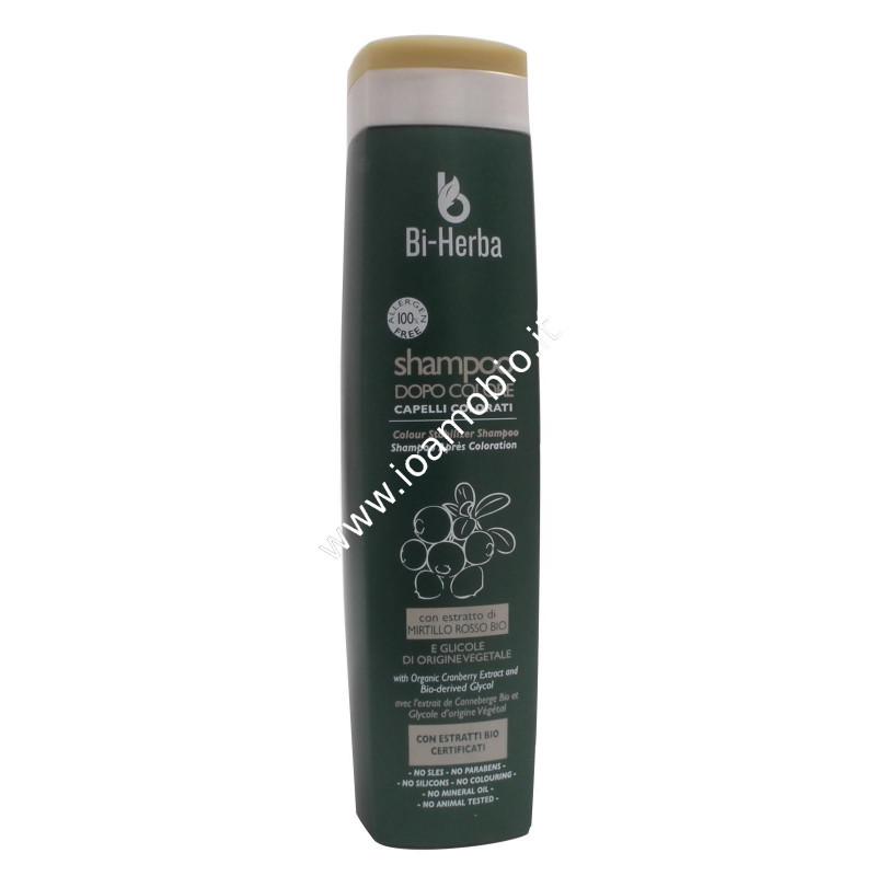 Shampoo Dopo Colore 250ml Bi Herba Protettivo Per Capelli Colorati