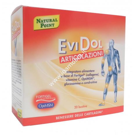 Evidol 20 bustine - Benessere cartilagini e articolazioni - Natural Point