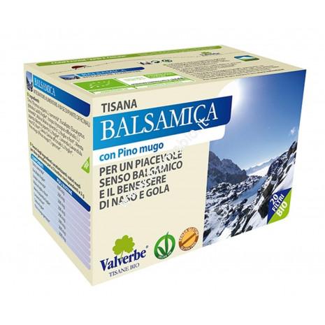 Balsamica 20 filtri - Valverbe Tisana biologica - Benessere naso e gola