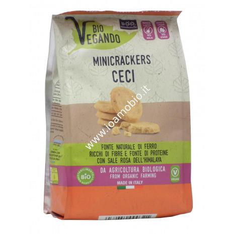 Minicrackers Biovegando Ceci 150g - con Olio Extravergine di Oliva