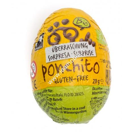 Ponchito - Ovetto di Cioccolato al Latte con sorpresa 20g