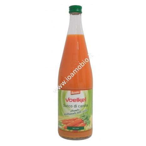 Succo di Carota biologico 700ml - Voelkel- Ottenuto con carote biodinamiche