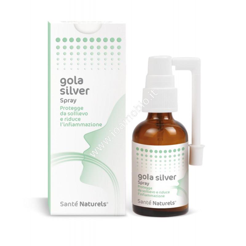 Silver Gola 30ml - Spray gola con Argento Colloidale Santè Naturels