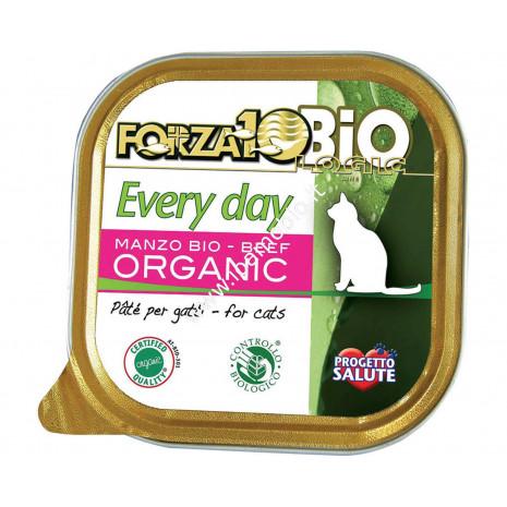 Patè al Manzo per Gatti adulti 100g - Cibo Biologico Forza10
