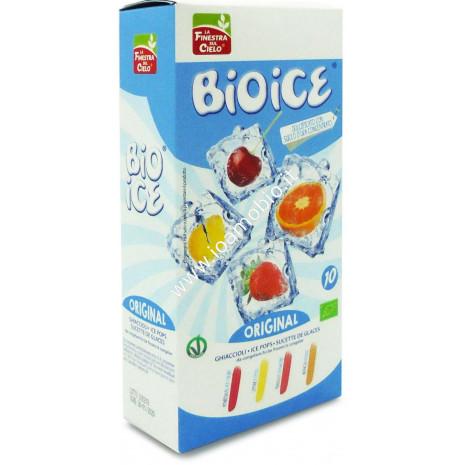 Bio Ice Original - Ghiaccioli assortiti 400ml -amarena, fragola, limone, arancia